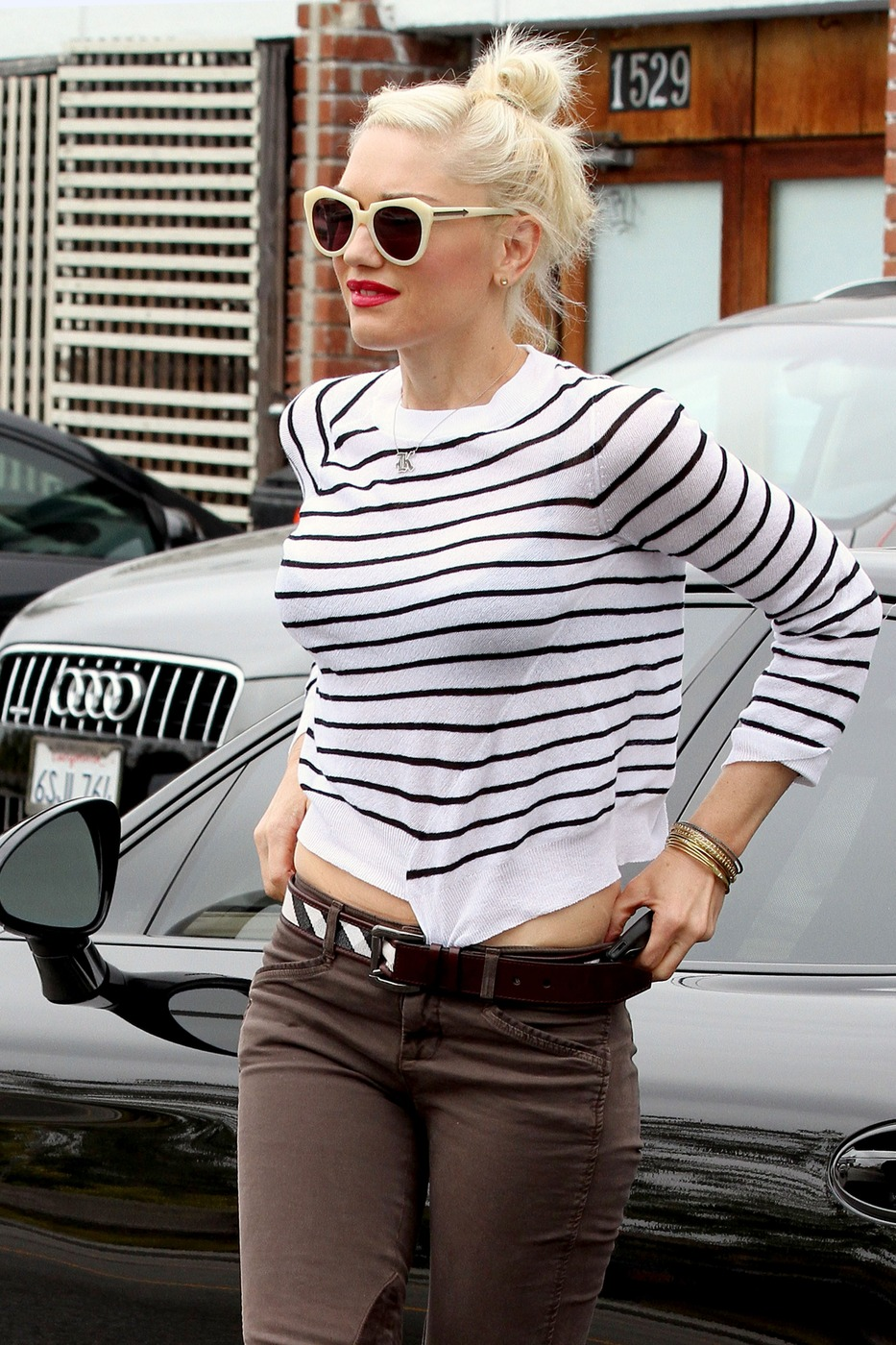 Gwen Stefani in Cropped Top