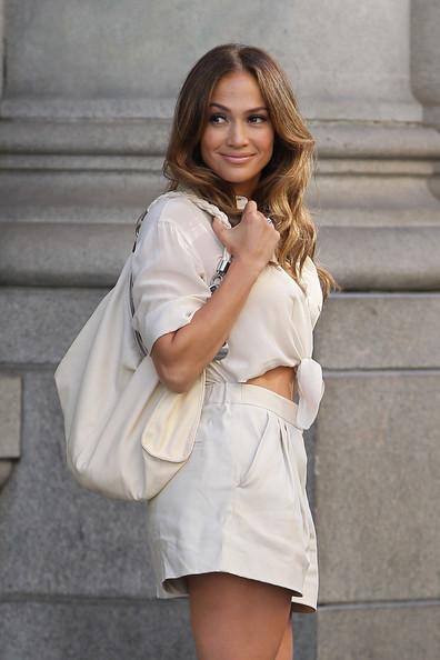 Jennifer Lopez in Bare Midriff