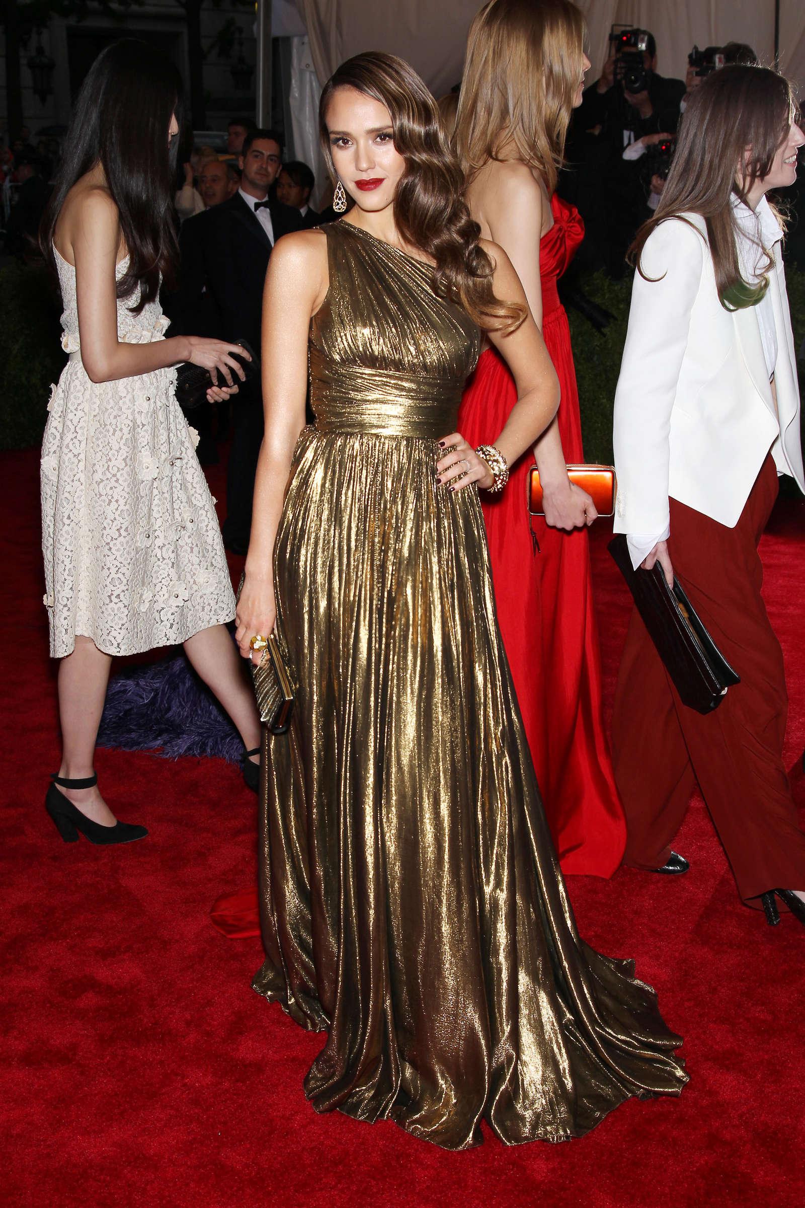 Jessica Alba - 2012 Met Gala