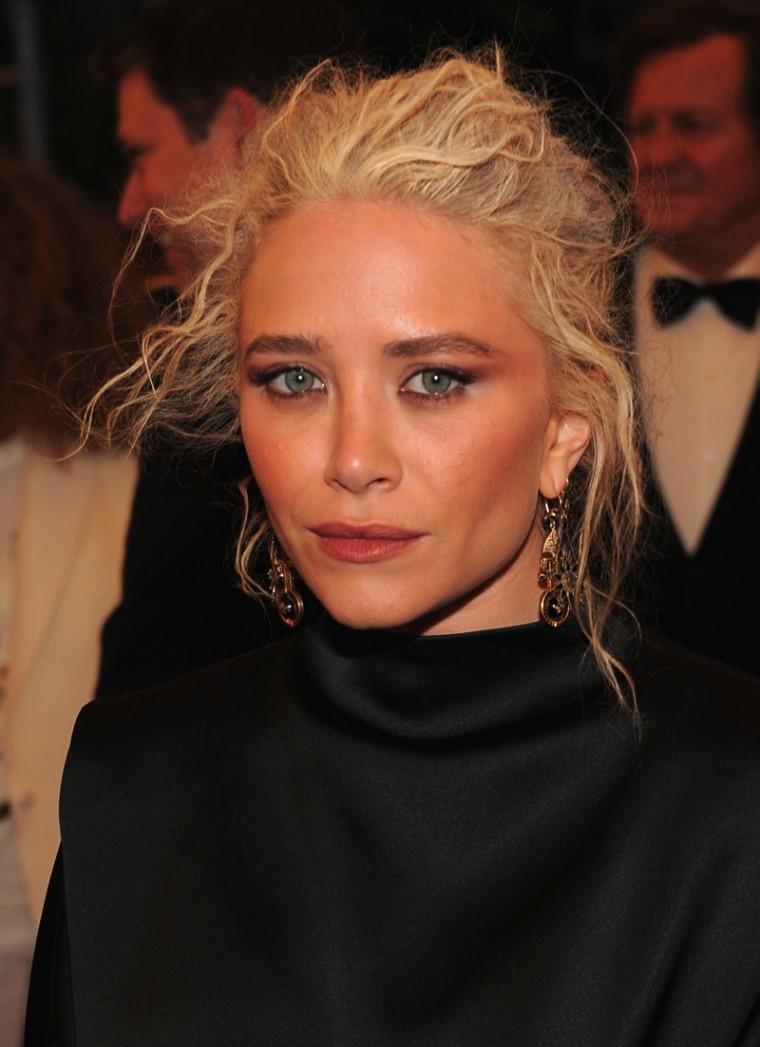 Mary Kate Olsen Makeup - 2012 Met Gala