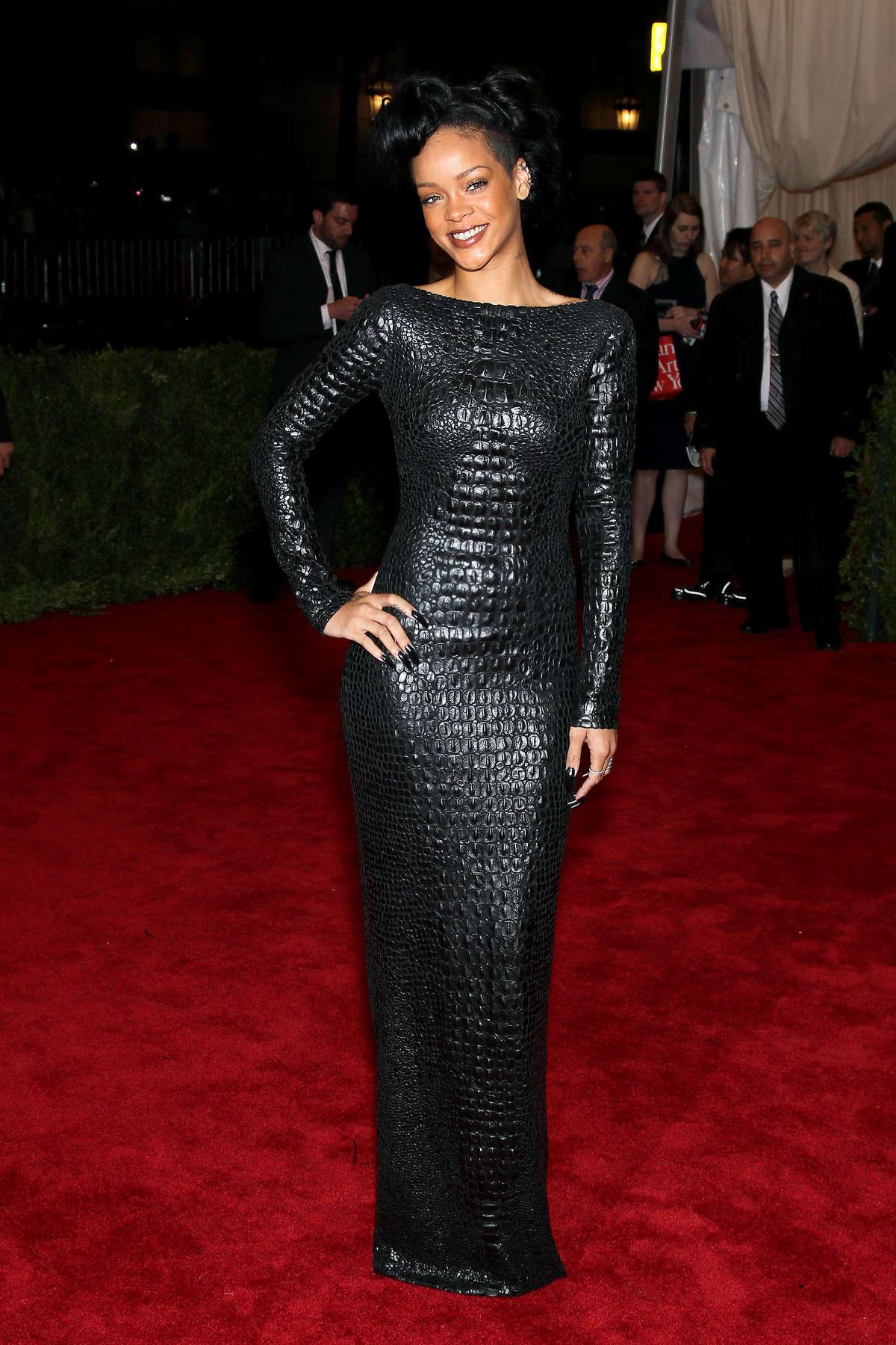 Rihanna - 2012 Met Gala