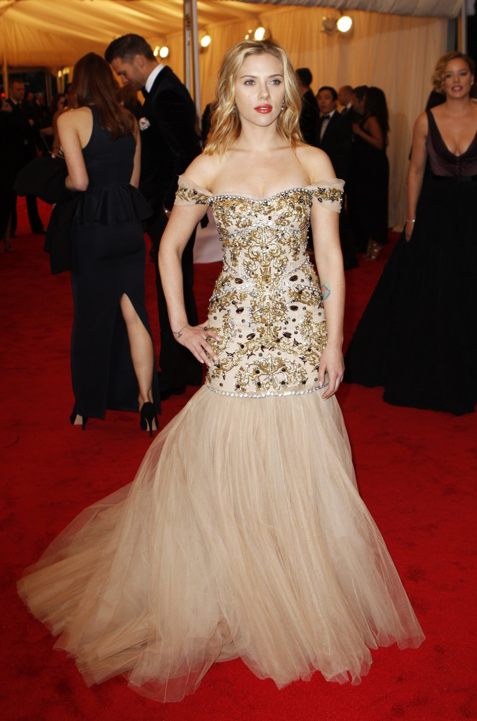 Scarlett Johansson - 2012 Met Gala