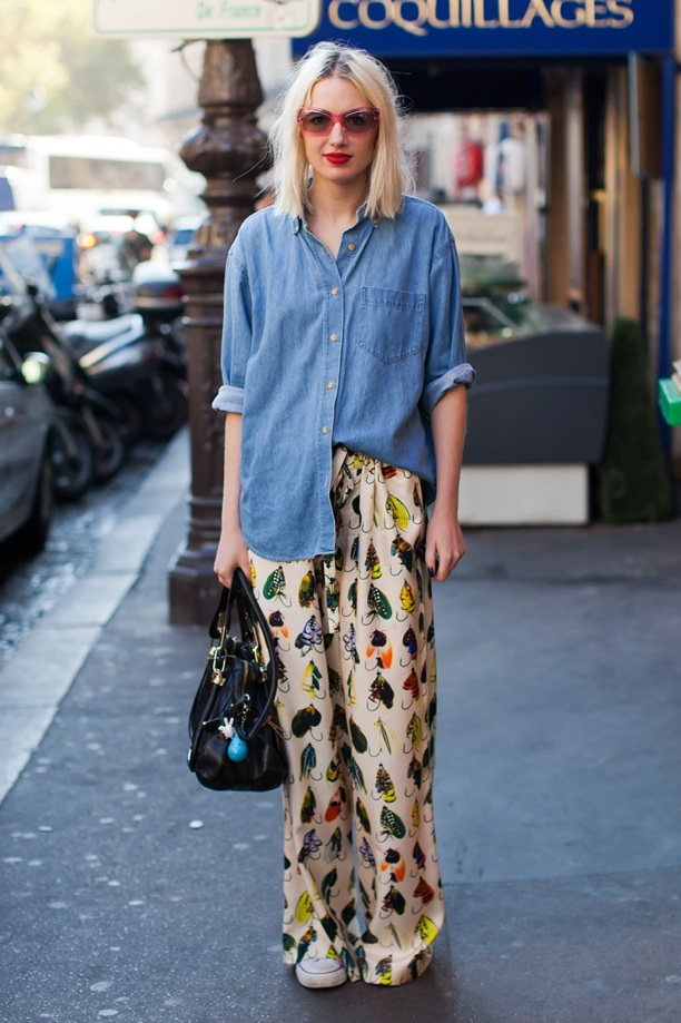2012 Statement Trousers - Street Style