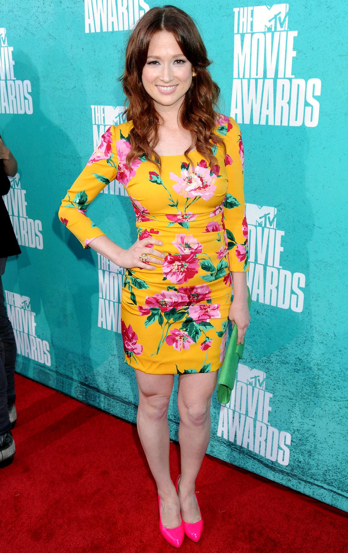 Ellie Kemper - 2012 MTV Movie Awards