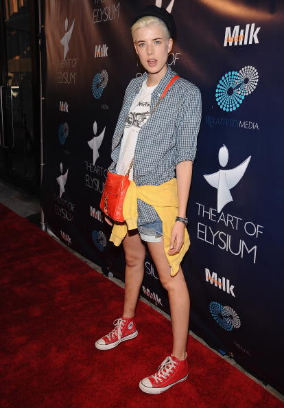 Agyness Deyn in Sneakers