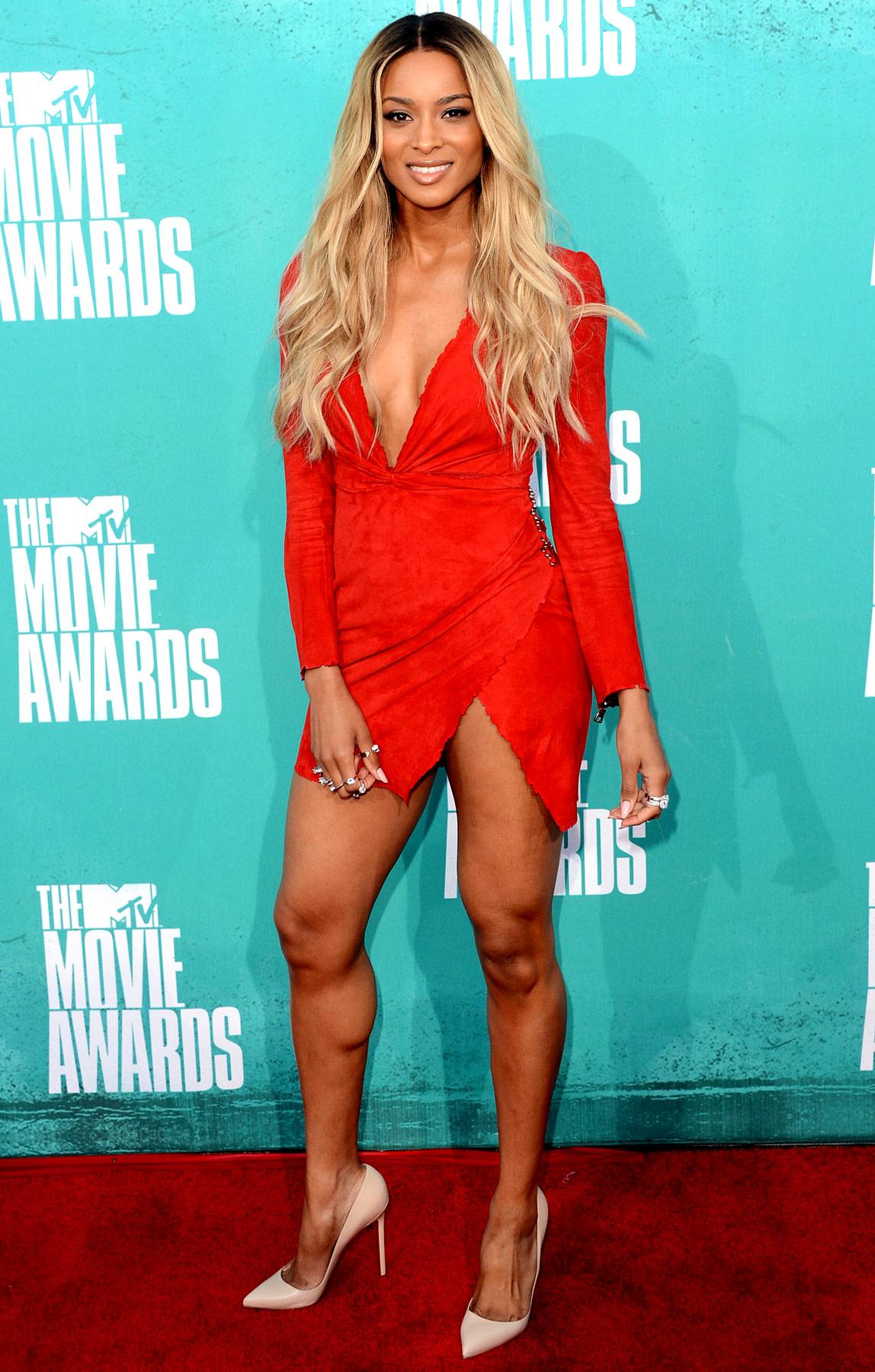 Ciara - 2012 MTV Movie Awards