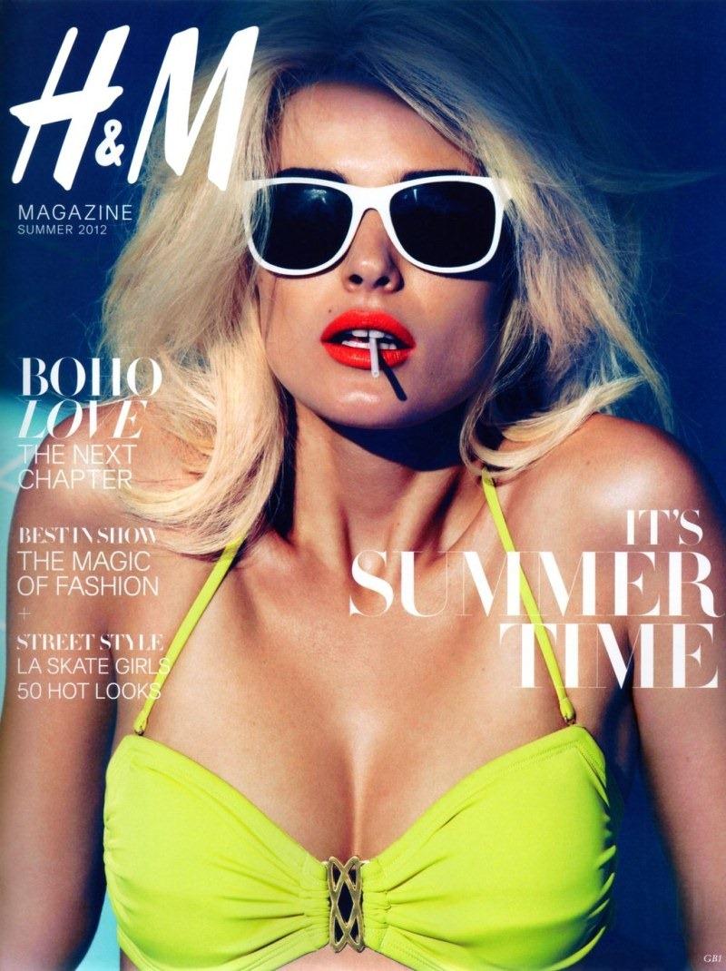 Edita Vilkeviciute H&M 2012 Summer