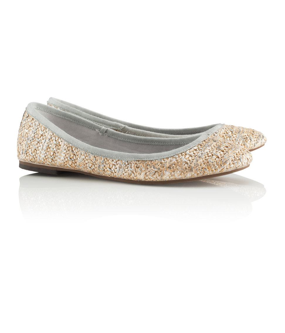 H&M balet pumps £16.99; image courtesy of H&M UK