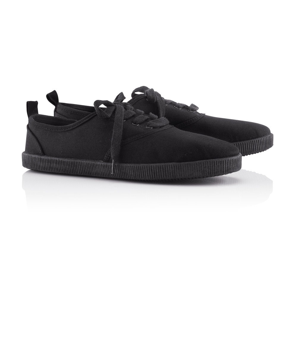 H&M fabric sneakers £7.99; image courtesy of H&M UK