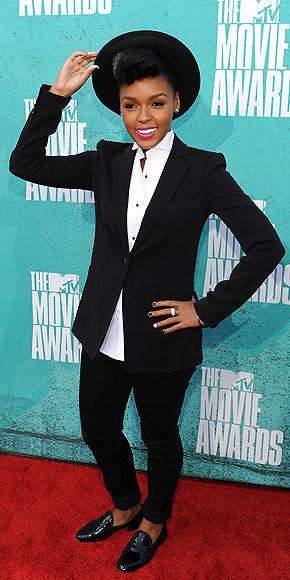 Janelle Monae - 2012 MTV Movie Awards