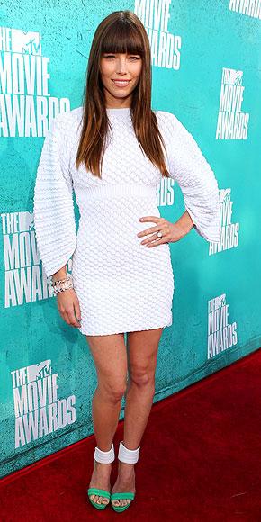 Jessica Biel - 2012 MTV Movie Awards