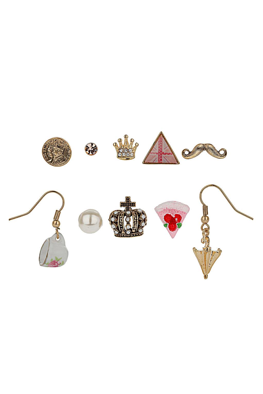 Topshop - Jubilee Kitsch Earring Pack - £12.50