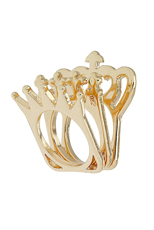 Topshop - Jubilee Multi Crown Ring - £10.00