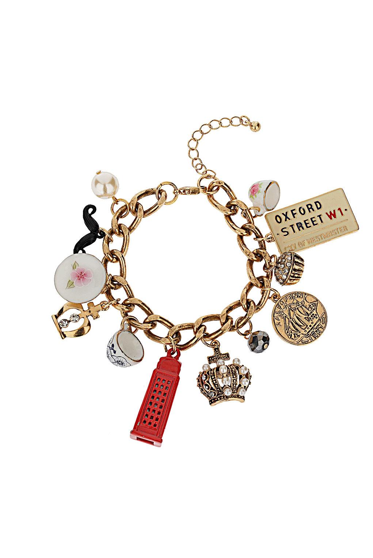Topshop - Jubilee Tea Cup Charm Bracelet - £15.00