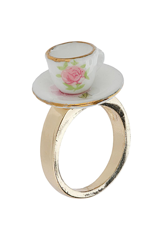 Topshop - Jubilee Tea Cup Ring - £8.50