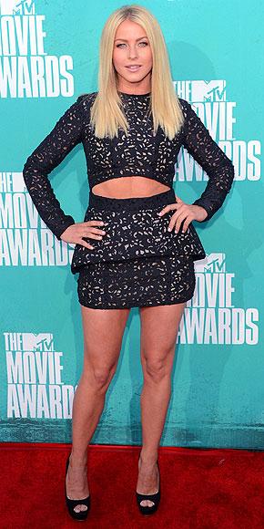 Julianne Hough - 2012 MTV Movie Awards
