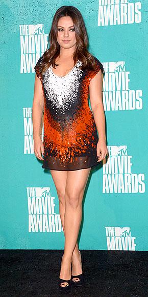 Mila Kunis - 2012 MTV Movie Awards