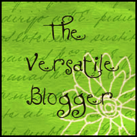 I've Been Nominated For The Versatile BloggerAward!