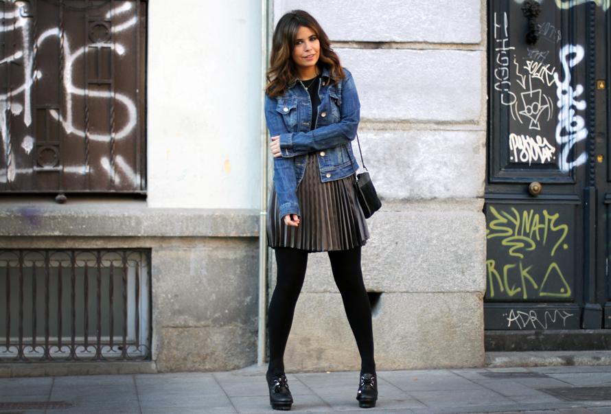 2012 Pleated Skirt - Street Style