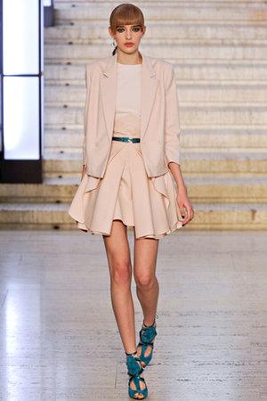 Antonio Berardi Fall 2012 RTW - Pleated Skirt