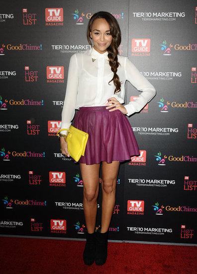 2012 Pleated Skirt - Ashley Madekwe
