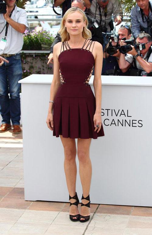 2012 Pleated Skirt - Diane Kruger