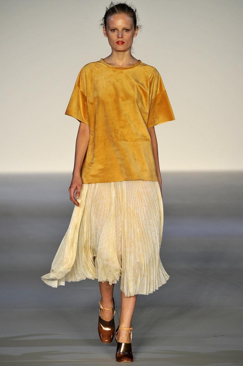 Jill Stuart Spring Summer 2011 - Pleated Skirt