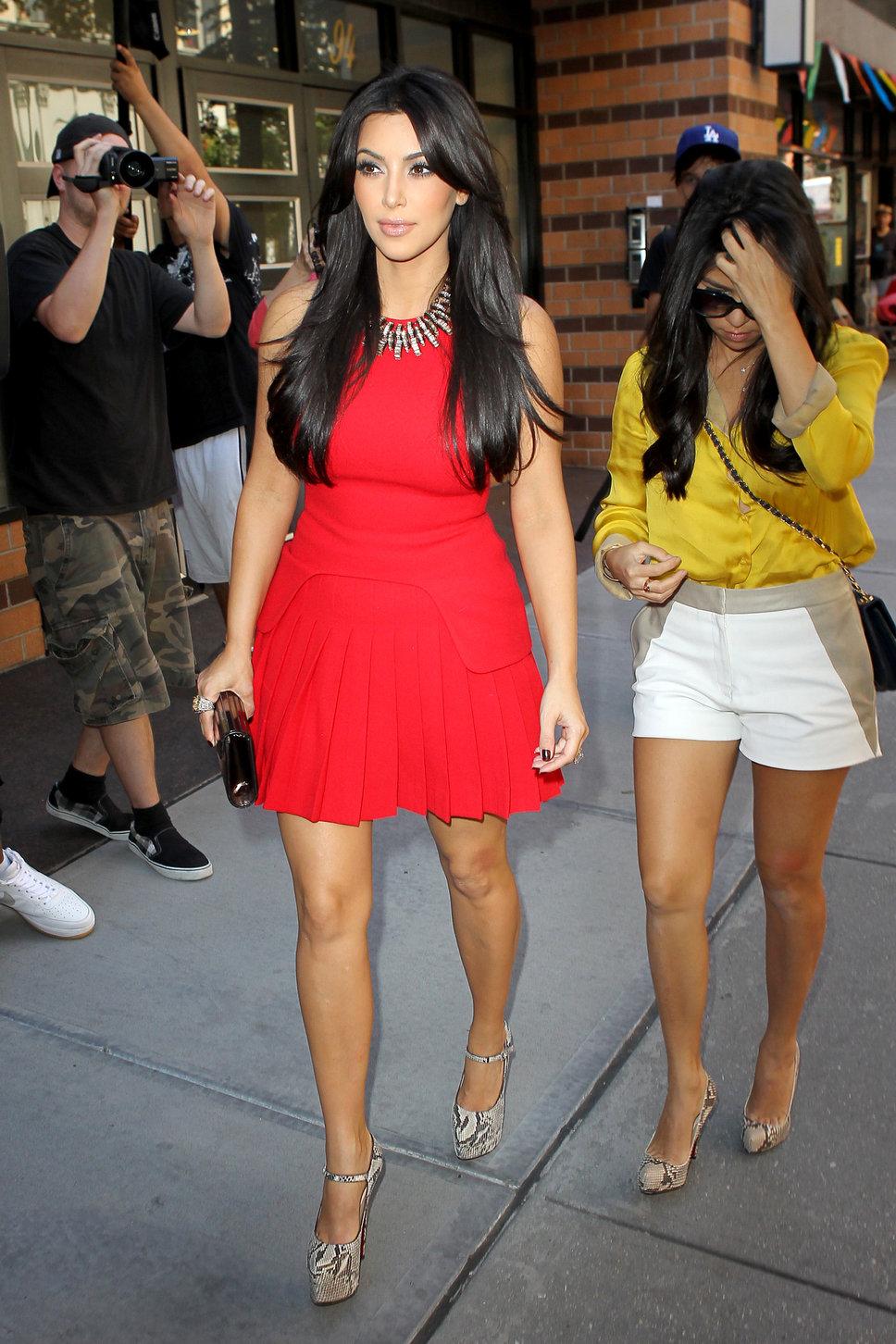 2012 Pleated Dress - Kim Kardashian