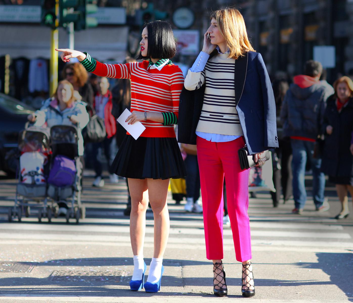 2012 Pleated Dress - Milan Street Style