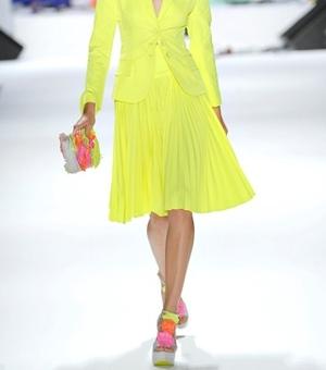 Nanette Lepore Spring 2012 - Pleated Skirt