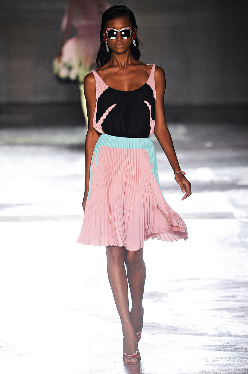 Prada RTW Spring 2012 - Pleated Skirt