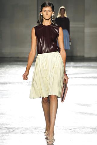 Prada Spring 2012 - Pleated Skirt