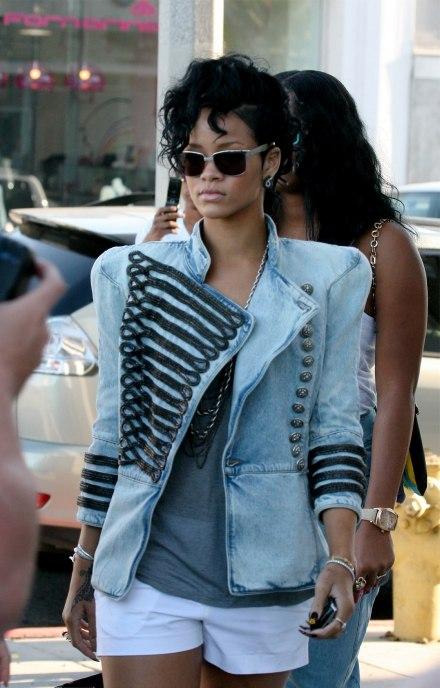 Rihanna army jacket
