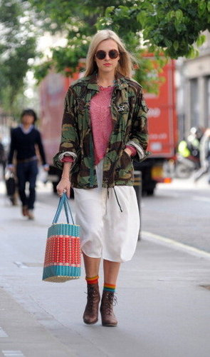 army jacket in London image via Shopstyle