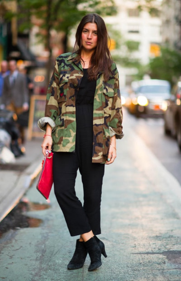 Fashion Gets Military With Army Jackets The Fashion Tag Blog