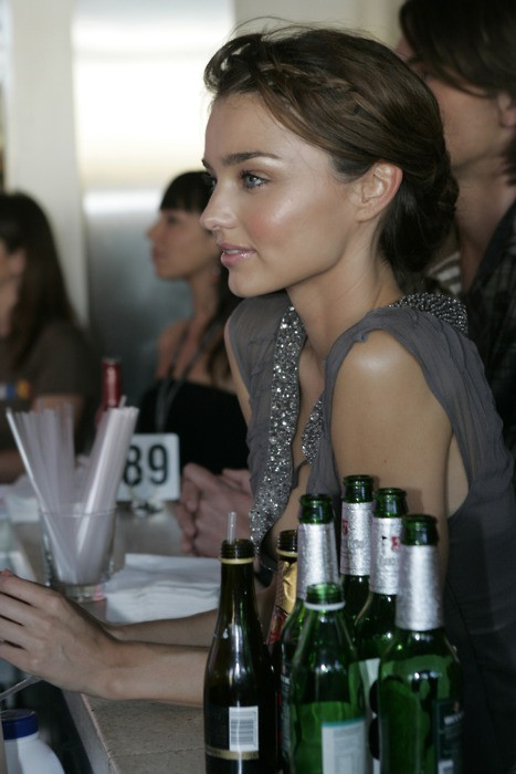 Miranda Kerr - natural & glowing make-up