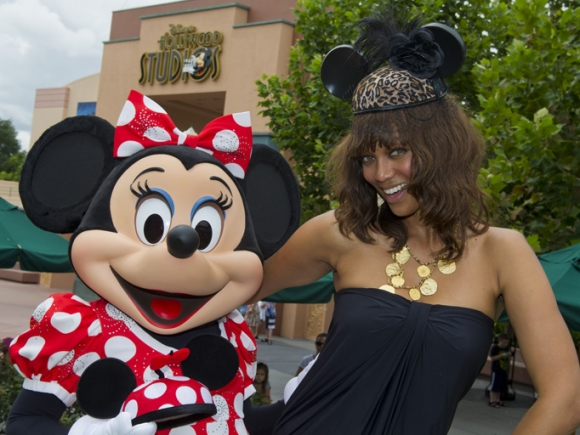 Tyra Banks & Minnie Mouse