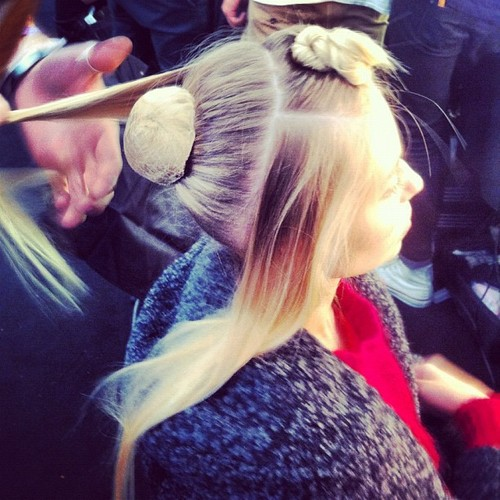Backstage London Fashion Week - Mary Katrantzou