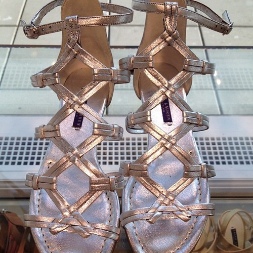 Backstage London Fashion Week - Ralph Lauren sandals
