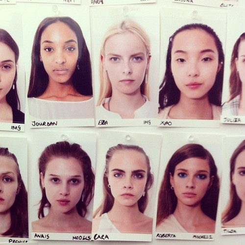 Backstage London Fashion Week - Topshop