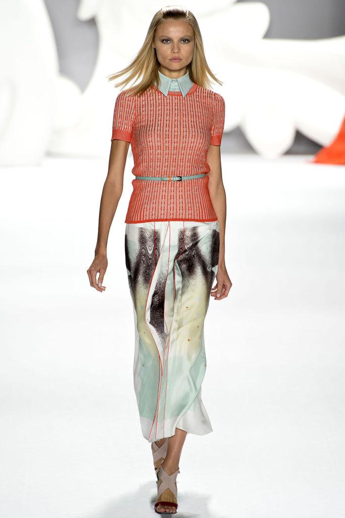 Carolina Herrera Spring 2013 Collection - New York Fashion Week