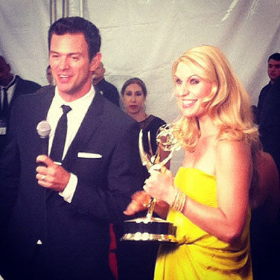 Claire Danes Instagram, personal photo - 2012 Emmy Awards