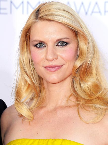 Claire Danes makeup & hair - 2012 Emmy Awards