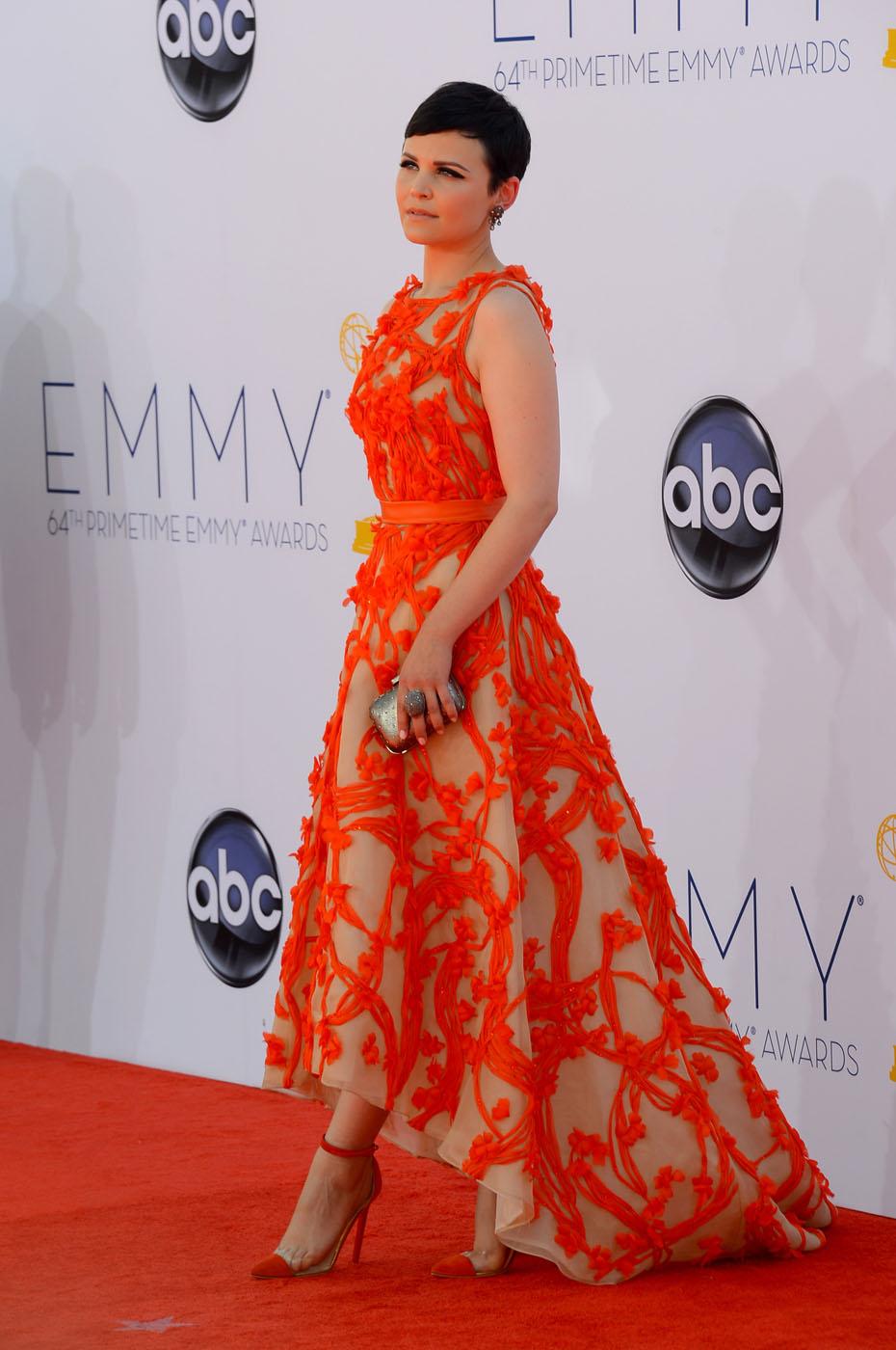 Ginnifer Goodwin - 2012 Emmy Awards, Red Carpet Looks
