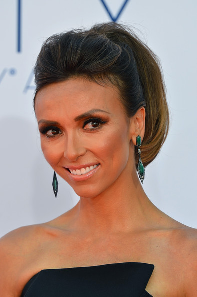 Giuliana Rancic makeup & hair - 2012 Emmy Awards