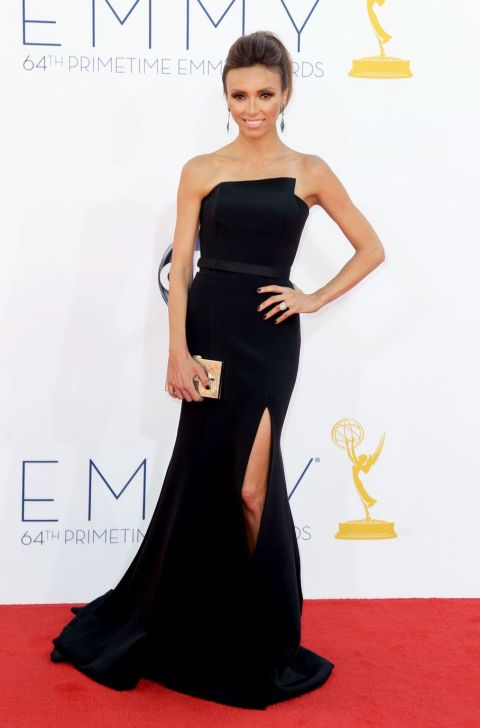 Giuliana Rancic - 2012 Emmy Awards, Red Carpet Looks
