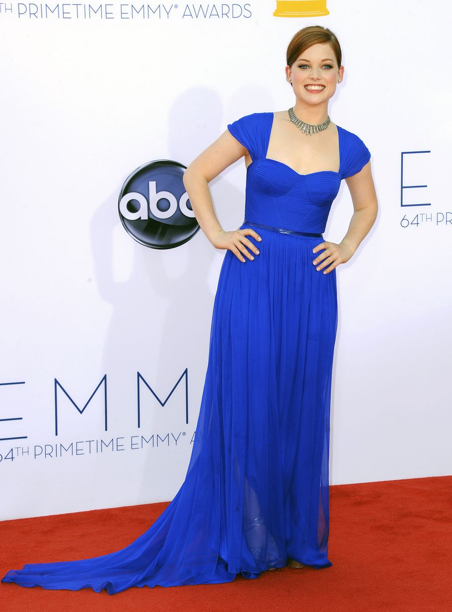 Jane Levy - 2012 Emmy Awards, Red Carpet Looks