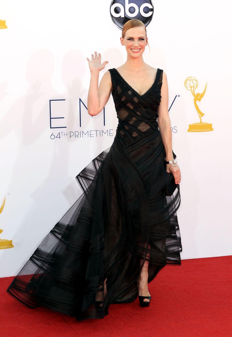 Giuliana Rancic - 2012 Emmy Awards, Red Carpet Looks