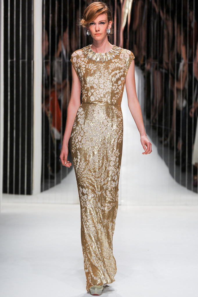 Jenny Packham - Spring 2013, New York Fashion Week