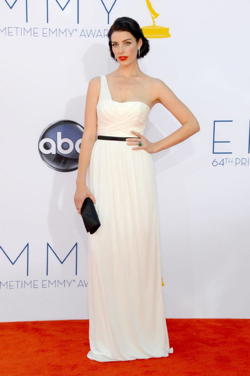 Jessica Pare - 2012 Emmy Awards, Red Carpet Looks